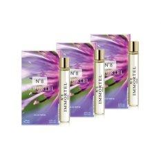Bộ 3 nước hoa nữ CB2 mini Immortel Paris No8 Eau De Parfum 6ml