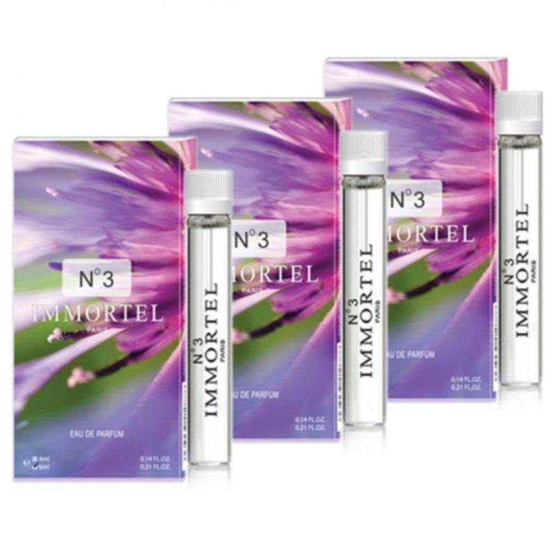 Bộ 3 nước hoa nữ CB3 mini Immortel Paris No3 Eau De Parfum 6ml