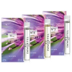 Bộ 3 nước hoa nữ CB5 mini Immortel Paris 5sens No8 No3 Eau De Parfum 6ml
