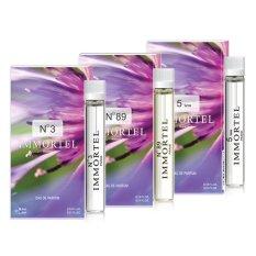 Bộ 3 nước hoa nữ CB7 mini Immortel Paris No3 No89 5sens Eau De Parfum 6ml