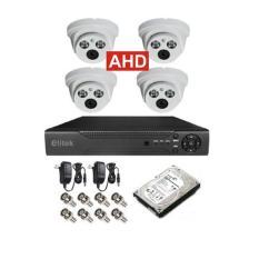 Cửa Hàng Bán Bộ 4 Camera Ahd Elitek Eca 10813 Trắng Đầu Ghi Elitek Ổ Cứng 250Gb