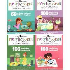 Ôn Tập Bộ 4 Cuốn Học Montessori Để Dạy Trẻ Theo Phương Phap Montessori Đinh Tị