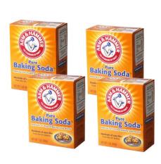 Bộ 4 hộp bột Baking Soda đa công dụng 454g