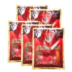 Bán Bộ 5 Goi Kẹo Hồng Sam Vitamin Korea Red Ginseng 200G Oem Trực Tuyến
