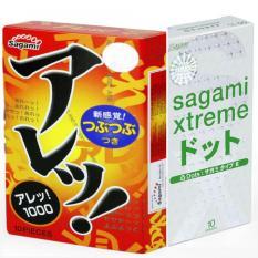 Mua Bộ Bao Cao Su Co Gan Va Gai Sieu Mỏng Sagami Extreme White 10 Bao Va Bao Cao Su Mỏng Co Dan Sagami Are Are 10 Bao Sagami