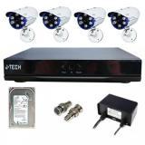 Giá Bán Bộ Camera Ahd J Tech 5603B 04 Camera 2 Mpx 01 Đầu Ghi 4Ch 01 Hdd 1Tb Rẻ Nhất