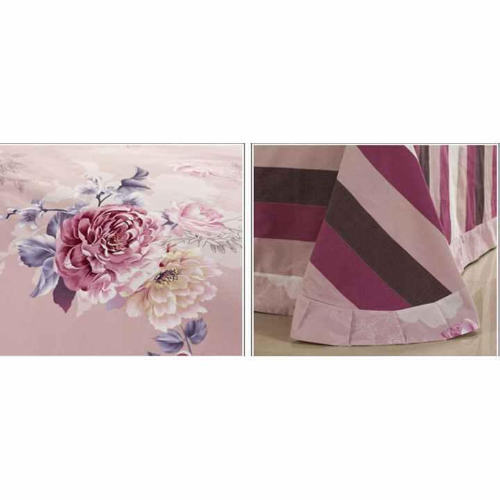Bộ chăn ra gối cotton nhung cao cấp Tencel Shop NM 070 1,6x2m
