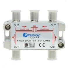 Bán Bộ Chia Truyền Hinh Cap Pacific 4204Ap Đỏ Người Bán Sỉ