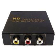 Giá Bán Bộ Chuyển Av Audio Video Sang Hdmi Convert Fj Ha1308 Đen Mới