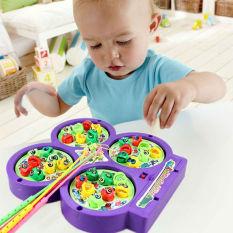 Hình ảnh Bộ đồ chơi câu cá 4 hồ cho bé
