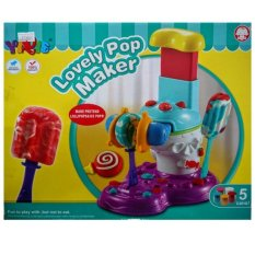 Hình ảnh Bộ đồ chơi làm kem lovely popmaker Yiqis 6858-B