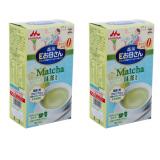 Ôn Tập Bộ Đoi Sữa Bầu Morinaga Vị Matcha 2 X 18G X 12 Goi