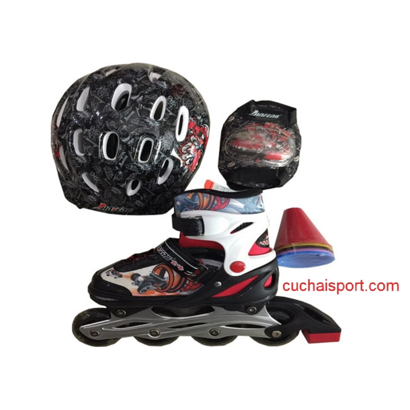 Phân phối Bộ giày trượt TE 3in1