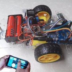Giá Bán Bộ Kit Tự Học Arduino Xe Điều Khiển Bằng Bluetooth Nguyên