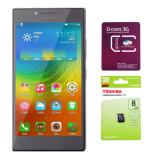 Mã Khuyến Mại Bộ Lenovo P70 Ips 16Gb 2 Sim Nau 1 Sim Dcom 3G Viettel 1 Thẻ Nhớ 8G Class 4 Vietnam