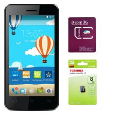 Bộ Mobiistar Buddy 4Gb 2 Sim Trắng 1 Sim Dcom 3G Viettel 1 Thẻ Nhớ Mcrosd 8Gb Class 4 Vietnam Chiết Khấu 50