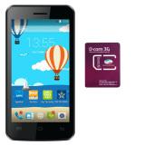 Chiết Khấu Sản Phẩm Bộ Mobiistar Buddy 4Gb 2 Sim Trắng 1 Sim Dcom 3G Viettel