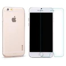 Bộ Ốp Lưng Silicon Cho Iphone 6 Trong Suốt Hoco Va Kinh Cường Lực Cho Iphone 6 Trong Suốt Hoco Rẻ Trong Hà Nội