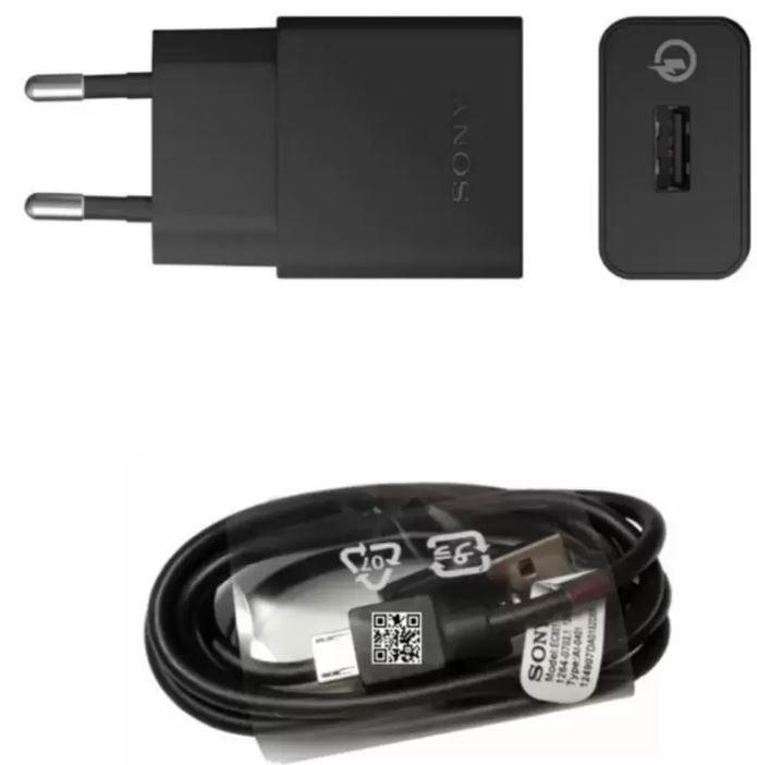Giá Bán Bộ Sạc Nhanh Sony Quick Charger Uch10 Đen Nhãn Hiệu Sony