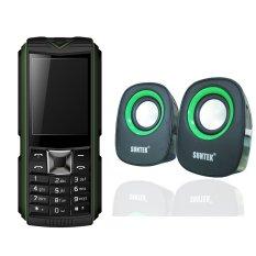 Mua Bộ Suntek X5 Plus Xanh Loa Suntek If 2 Xanh Mới