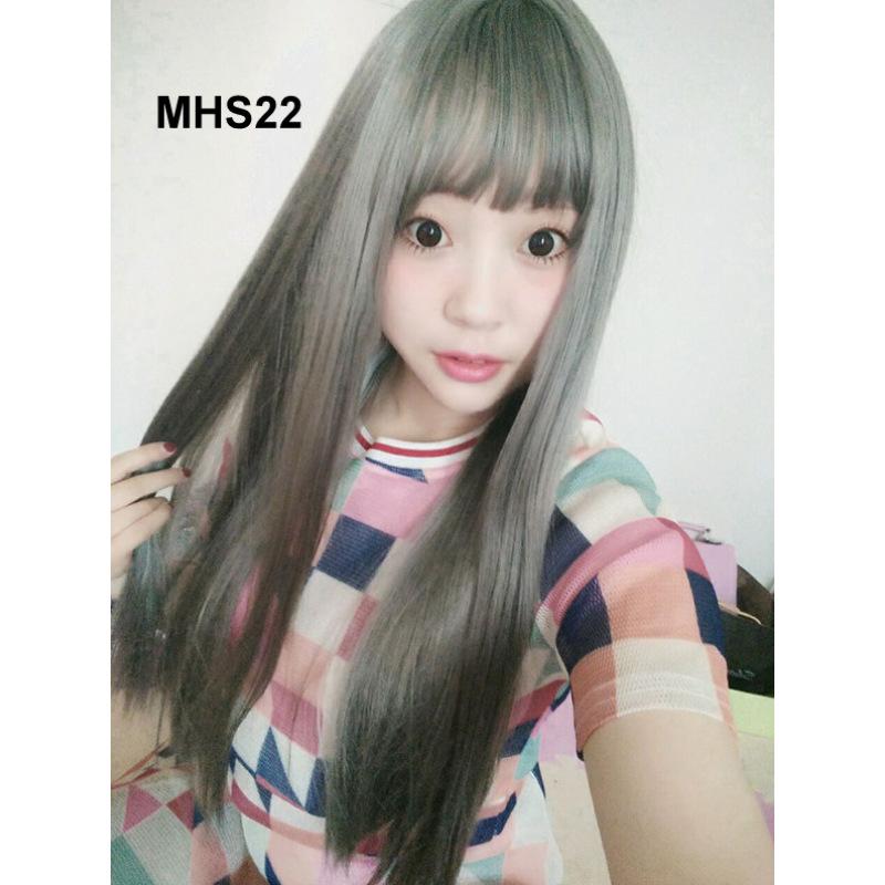 Bộ Tóc Bạch Kim Dài Mái Ngang MHS22 nhập khẩu