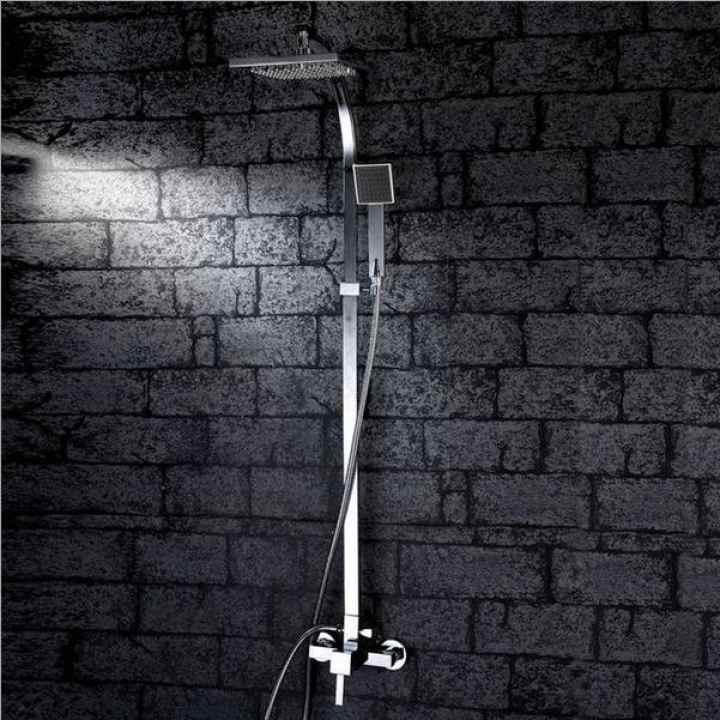 Bộ vòi sen tắm cây nóng lạnh chất liệu inox 304 cao cấp ALCC