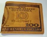 Mua Bop Vi Tiền Da Nam Hinh Tờ Tiền 100 Cỏ Điẻn