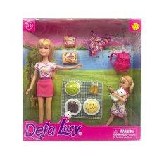 Hình ảnh Búp bê Defa Lucy picnic