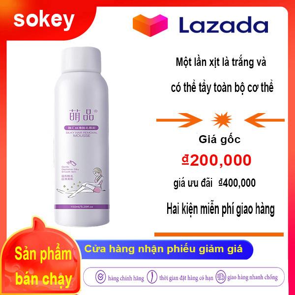 Xịt tẩy lông, dùng để tẩy lông vùng nách và vùng kín .Dùng là sản phẩm đặc trị toàn thân vĩnh viễn, an toàn không gây kích ứng da 120g