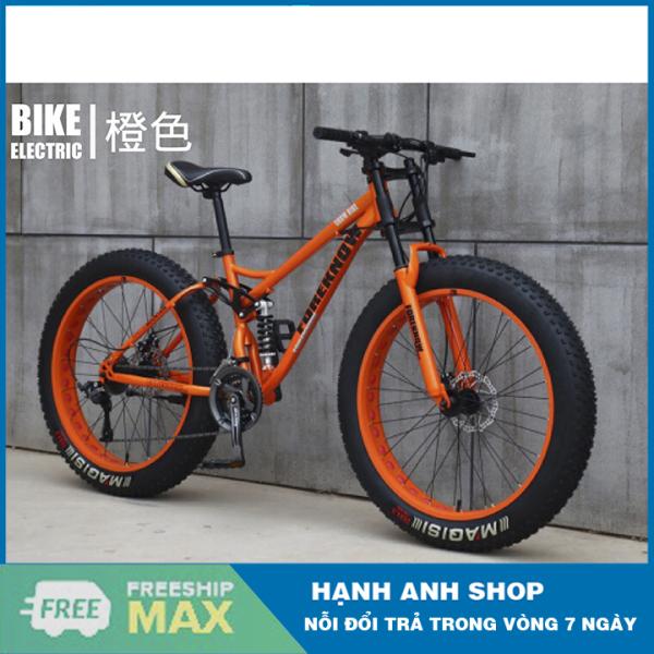 Mua Xe đạp thể thao bánh béo Foreknow 24inch 26inch/4.0 ,24 Tốc độ - Thương hiệu đài loan - Bảo hành 2 năm