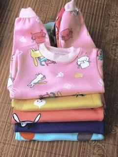 Nỉ bông- 5 bộ đồ mùa đông giành cho bé gái/bộ nỉ bông cho trẻ em/nỉ bông cho bé