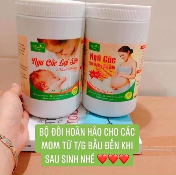 NGŨ CỐC LỢI SỮA CAO CẤP MomBeauty hộp 1kg, kích thích tiết sữa nhiều, thơm ngon bổ dưỡng cho con