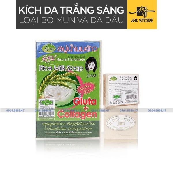 Xà phòng cám gạo Thái jam rice milk