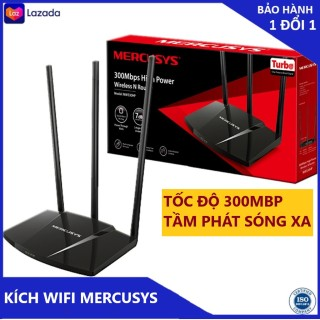 Bộ phát wifi xuyên tường độ lợi cao Mercusys MW330HP chuẩn N 300Mbps thumbnail