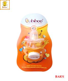 Ty ngậm silicon cao cấp êm mềm tự nhiên cho bé BABIBOO - BA831 thumbnail