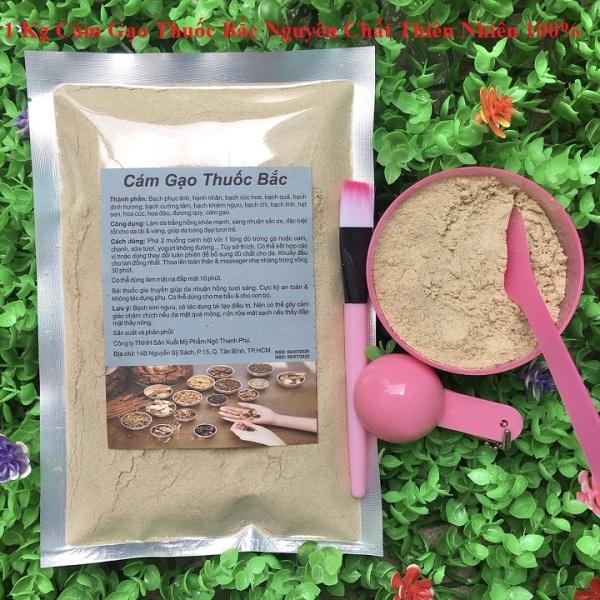 500g-1 Kg Bột Cám gạo Thu-ốc bắc nguyên chất thiên nhiên 100% dùng để đắp mặt đa công dụng