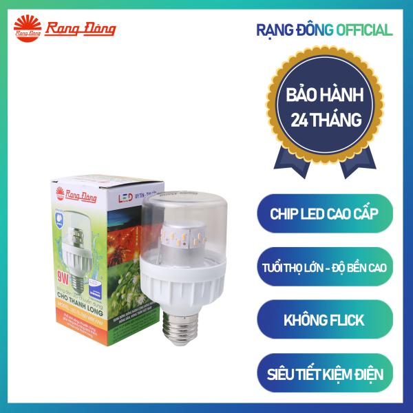 Đèn LED thanh long TL-T60 WFR/9W Chính hãng Rạng Đông Cho hiệu quả kinh tế cao Siêu tiết kiệm điện Tư vấn lắp đặt Tuổi thọ cao