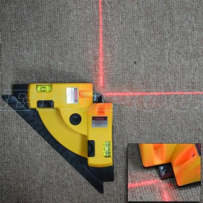 Thước eke ke góc vuông Laser máy đo góc vuông 90 độ bằng tia Laser đa với độ chính xác cao và thời gian thực hiện nhanh chóng là công cụ hỗ trợ việc ke ốp lát trong xây dựng
