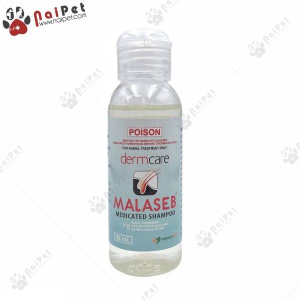 Sữa Tắm Ngăn Ngừa Nấm Viêm Da Dị Ứng Cho Chó Mèo DermCare Malaseb 50ml