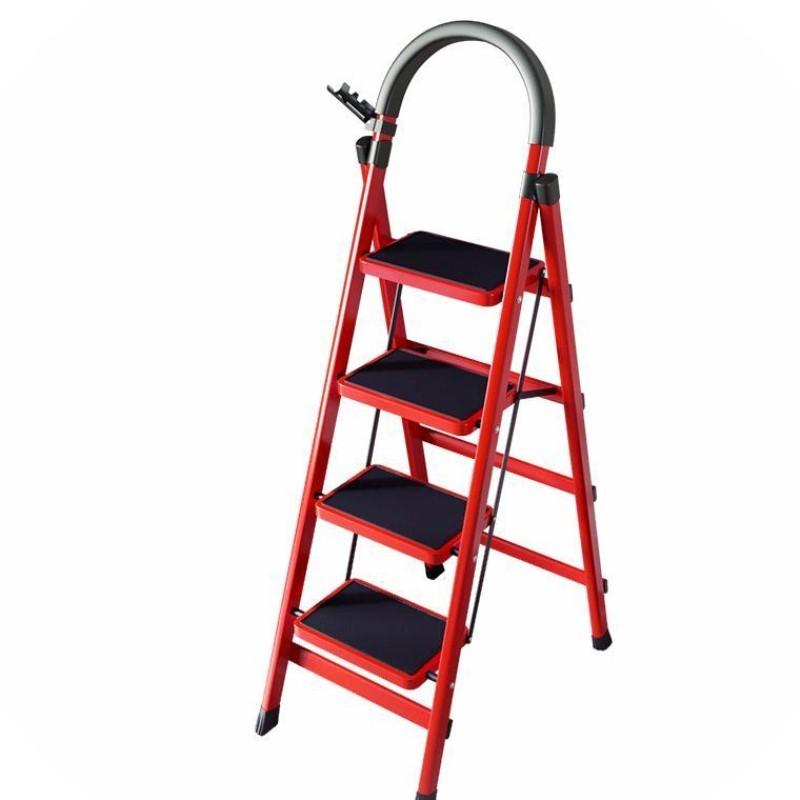 Thang ghế xếp gọn 3 bậc 4 bậc Yuanguan, khội lượng nhẹ, tải trọng cao