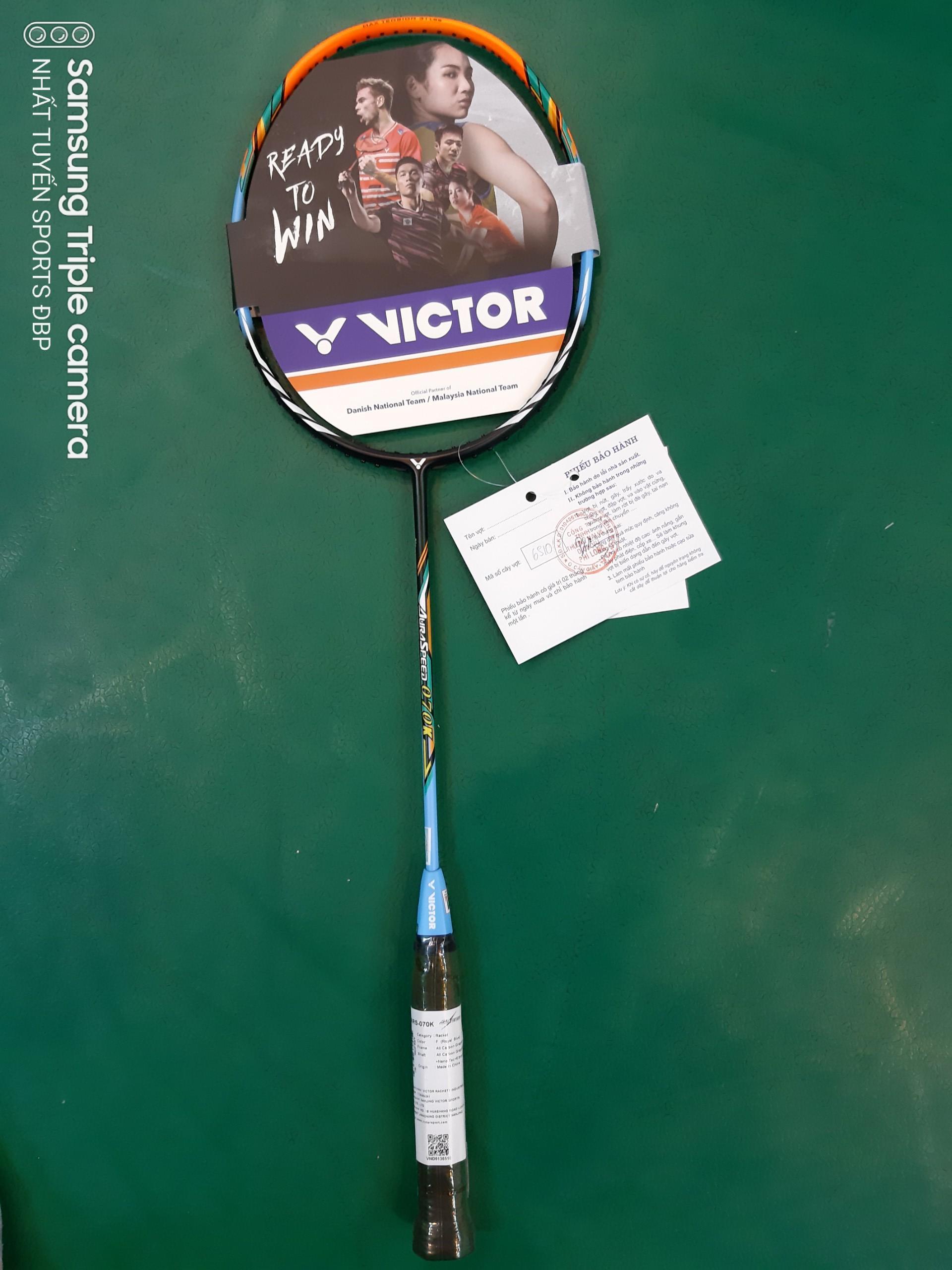 Bảng giá Vợt cầu lông Victor AuRaSpeed 070 (Hàng hãng)