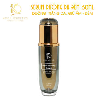 Serum dưỡng da Đêm chuyên sâu KimKul Night Recovery 60ML - Tác dụng Dưỡng trắng da, giữ ẩm, chăm sóc da vào ban đêm