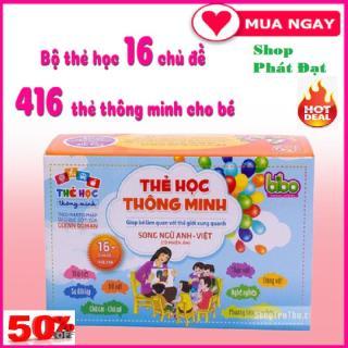 Bộ 416 thẻ học song ngữ anh - việt cho bé Bộ thẻ Song Ngữ Anh - Việt (có phiên âm) 16 chủ đề thumbnail