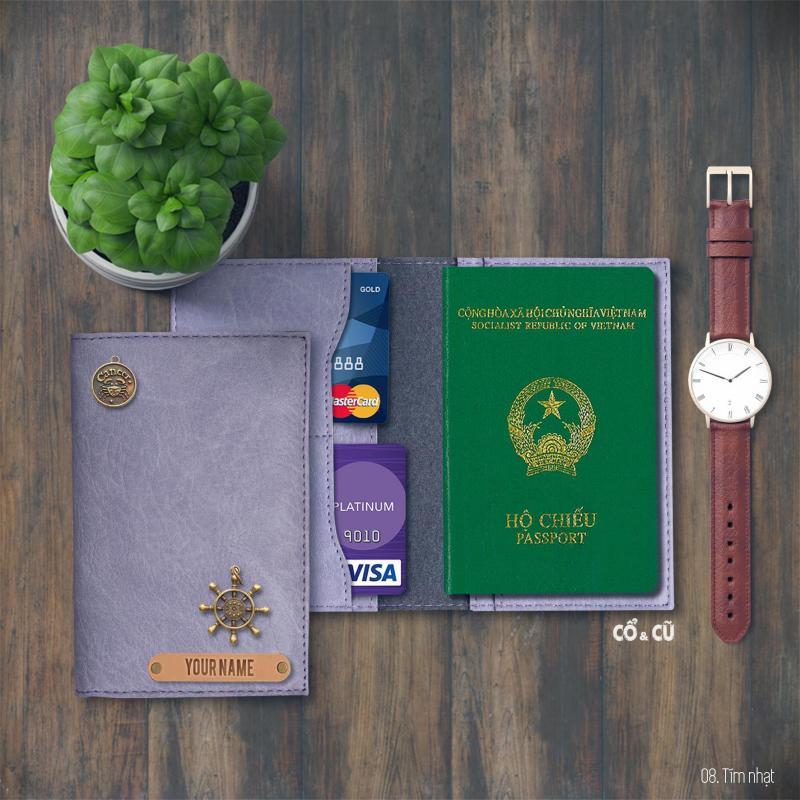 Ví đựng passport du lịch + hơn 20 màu đẹp