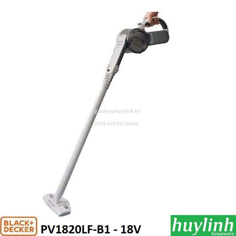 Máy hút bụi cầm tay dùng pin 18V Black Decker PV1820FL-B1 - Có phụ kiện nối dài