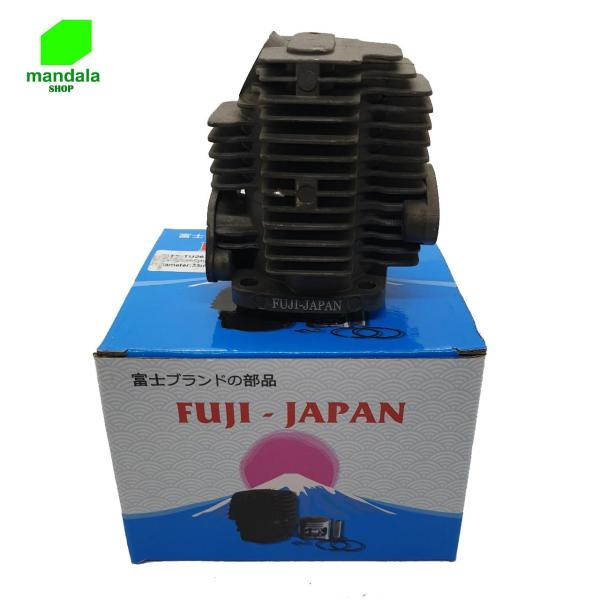 Bộ Hơi nòng xi lanh piston máy cắt cỏ 33F thay thế cho mitsu TL26 nhật bãi