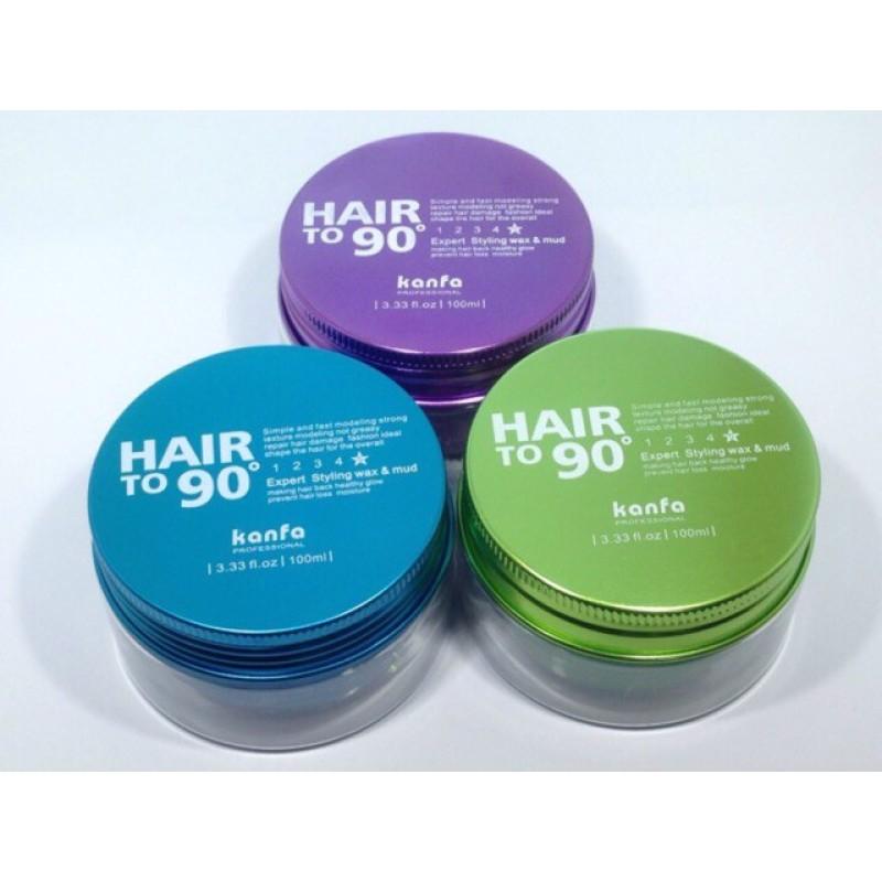 Sáp Vuốt Tóc Hair To 90 Kanfa 100ml (Sự kết hợp 2 trong 1) nhập khẩu