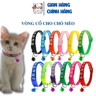 Vòng cổ chó mèo loại đẹp có chuông - Đảo Chó Mèo thumbnail