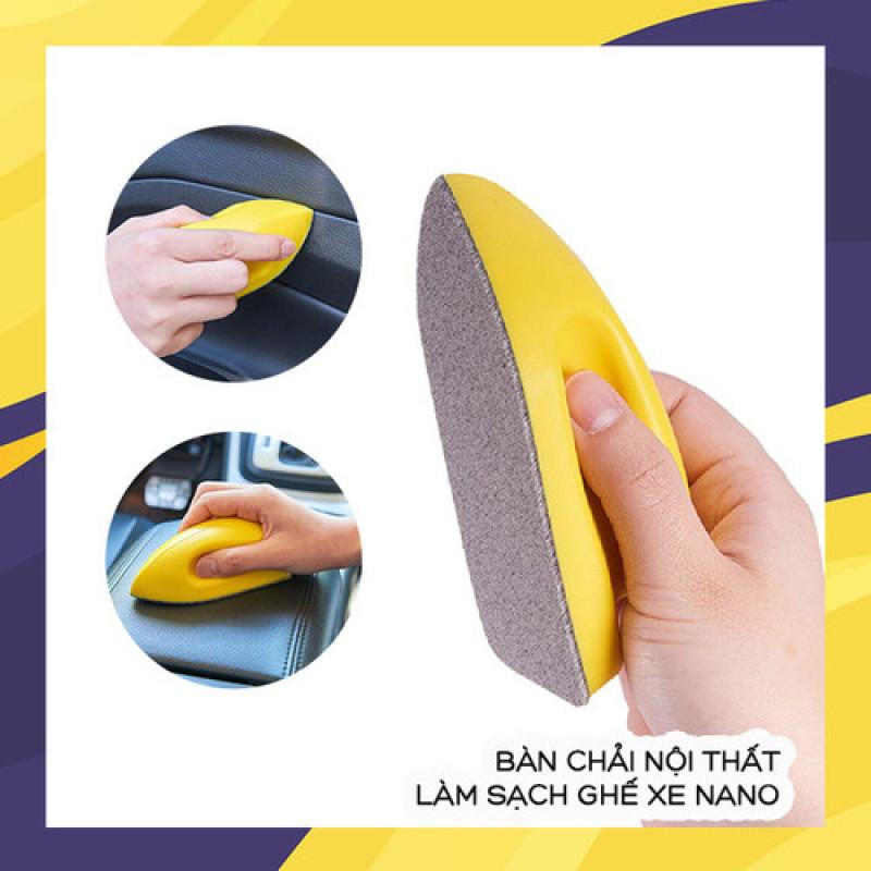 Bàn chải nội thất làm sạch ghế xe nano cao cấp