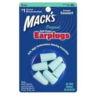 Hộp 3 đôi nút bịt tai chống ồn SafeSound - 903 Nhập khẩu Mỹ thương hiệu Mack s thumbnail